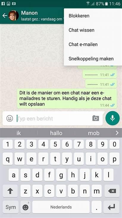 Whatsapp Berichten Ik Hcc Computer Hoe Mijn