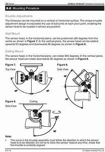 Clipsal 3 Wire Infrascan
