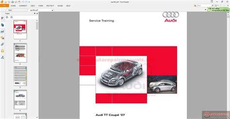 free online car repair manuals download 2011 audi s4 electronic valve timing audi 2007 tt service manual auto repair manual forum heavy equipment forums download