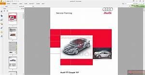 Audi 2007 Tt Service Manual