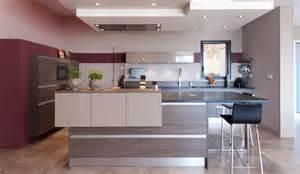 modern kitchen with island serenade model