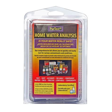 purtest home water analysis kit   home depot