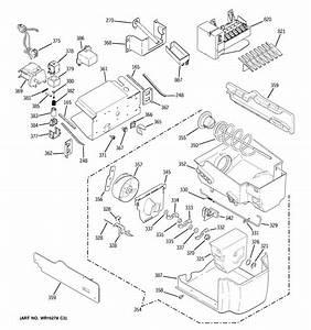 Ice Maker  U0026 Dispenser Diagram  U0026 Parts List For Model