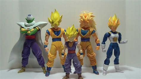 sh figuarts super saiyan  son goku review youtube