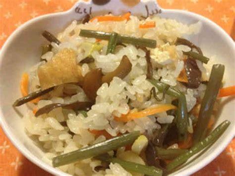 山菜 おこわ レシピ