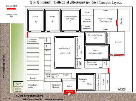 floor plan  complete campus layout ccms