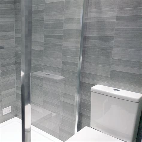 light grey small tile pvc wall panels  easy fit panels