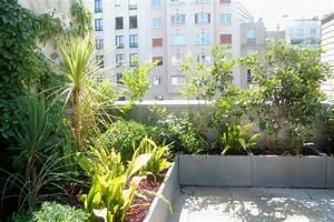 Plantes Grimpantes Pot Pour Terrasse : terrasse et balcon paysagiste paris 75 apex paysage ~ Premium-room.com Idées de Décoration