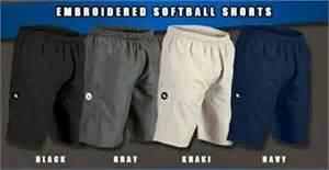 worth softball shorts