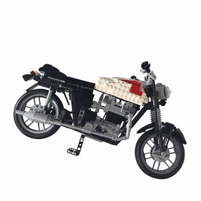 Triumph Lego Motorcycle Accuracy Bonneville T120 Support