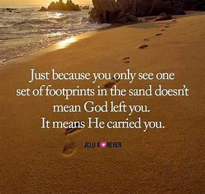 Information About Footprints In The Sand Quotes Yousenseinfo