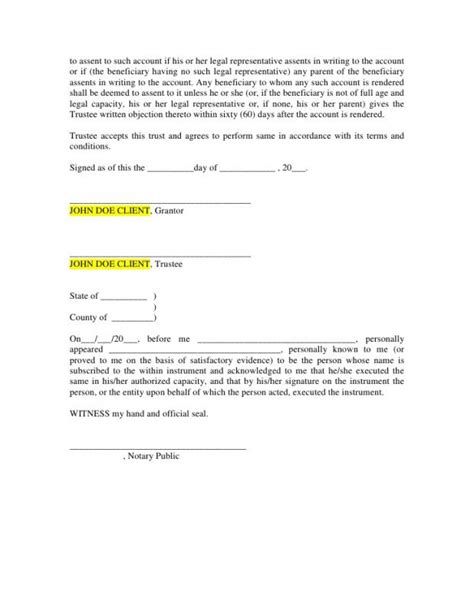 Last Will And Testament Template Microsoft Word Last Will And Testament Template Microsoft Word