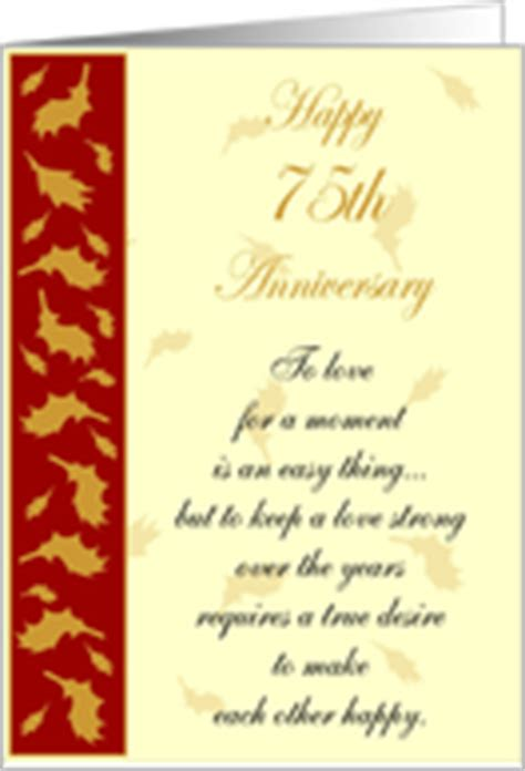 Forever Happy 75th by 75th Wedding Anniversary Cards From Greeting Card Universe