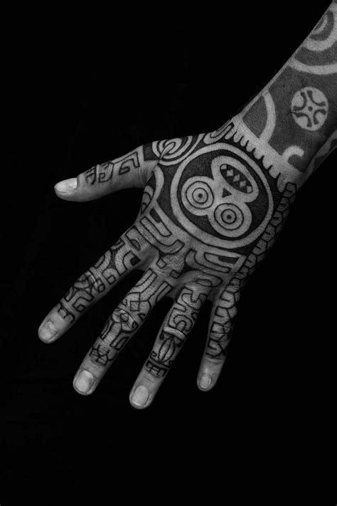 Hand tribal tattoo design | Odd Stuff Magazine