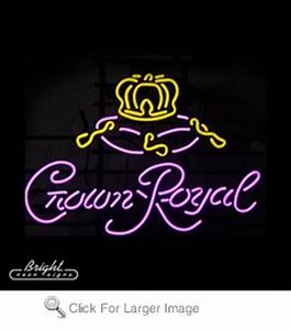 Neon Crown Royal Sign only $279 99 Signs N