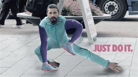 Shia LaBeouf Proves When You Wear Purple Yoga Pants The