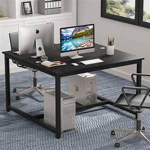 47, X, 47, Inch, Two, Person, Computer, Desk, Double, Workstation, Desk, 2, People, Office, Desk, For, Home