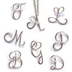 135 best images about aalphabet letters in wire on With wire alphabet letters