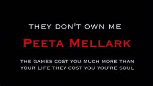 Hunger Games Quotes Peeta. QuotesGram