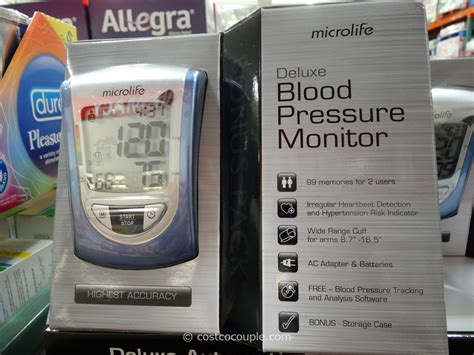 Microlife Deluxe Blood Pressure Monitor