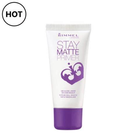 rimmel stay matte primer makeupconz