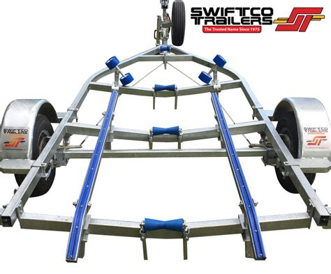Ski Boat Trailer Skids by Swiftco 5 Metre Boat Trailer Skid Type 7 2200 Swiftco