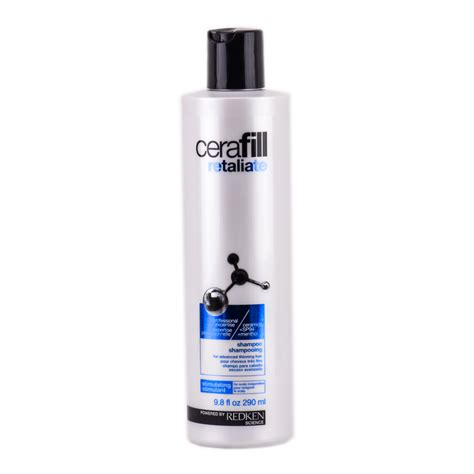 hair styling products for thinning hair redken cerafill retaliate shoo for advanced thinning 5461
