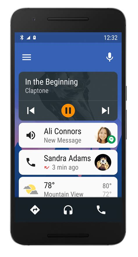 application android auto android auto at i o coming soon to your phone plus waze hotwording and a concept droid