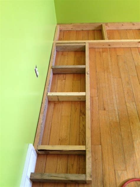 Plans For Building Kitchen Banquette Seating - diy banquette using kitchen cabinets for the home
