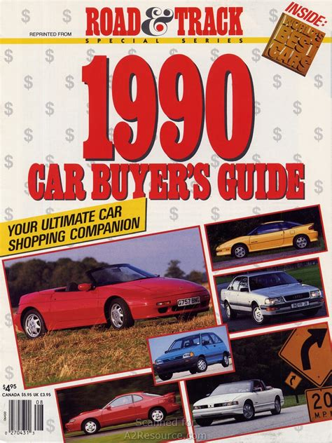 Road & Track 1990 Buyer's Guide