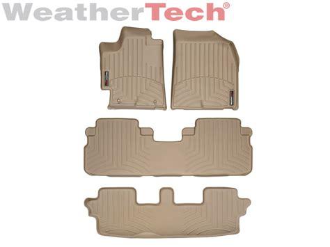 Toyota Highlander Floor Mats by Weathertech 174 Floor Mats Floorliner Toyota Highlander