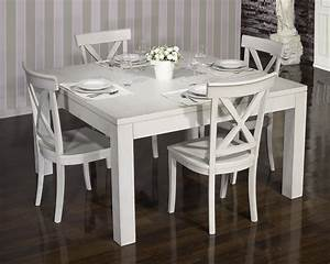 Table En Chene Moderne : table de salle manger 140 140 contemporaine en ch ne finition ch ne bross gris perle meuble ~ Melissatoandfro.com Idées de Décoration