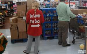 People at Walmart with No Shame