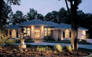 luxury one story house plans and luxury mediterranean - One Story Mediterranean House Plans