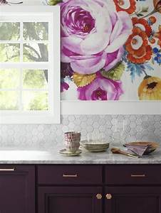 25 basta colorful wallpaper ideerna pa pinterest With what kind of paint to use on kitchen cabinets for hello kitty wall art
