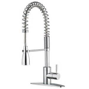 industrial kitchen faucets foret pre rinse commercial 1 handle side sprayer kitchen faucet in chrome fp4a5026cp the