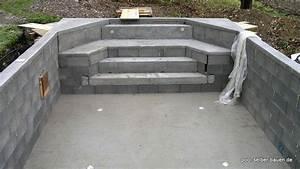 Schwimmbad Selber Bauen : schwimmbad mit schalsteinen betonieren pool selber ~ Markanthonyermac.com Haus und Dekorationen