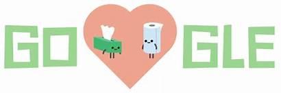 Google Valentine Doodles Doodle Valentines Hedgehog Blushing