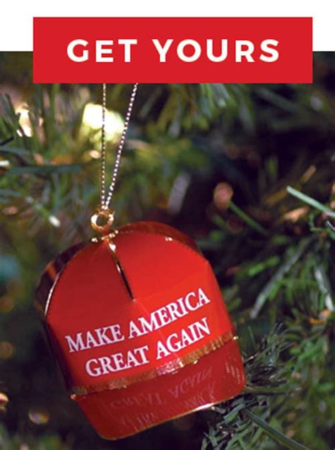 trump christmas ornament again tree america circus donald manipulate continues businesses substancenews
