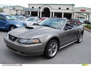 2002 Ford Mustang Gt Convertible In Mineral Grey Metallic