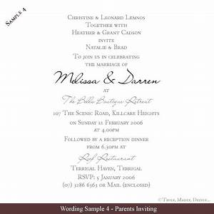 Free Wedding Invitation Wording Samples Truly Madly