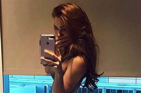 Yanet Garcia Instagram 'worlds Hottest Weather Girl Showcases Her Very Peachy Bum Daily Star