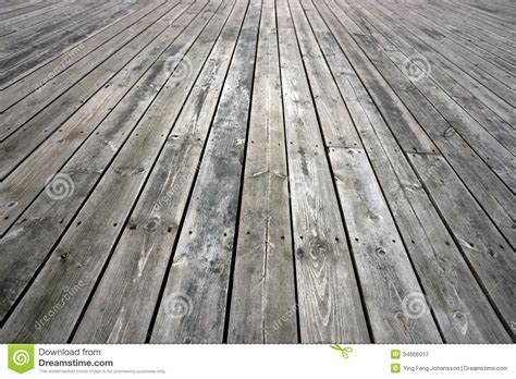 Weathered wooden floor stock image. Image of wooden