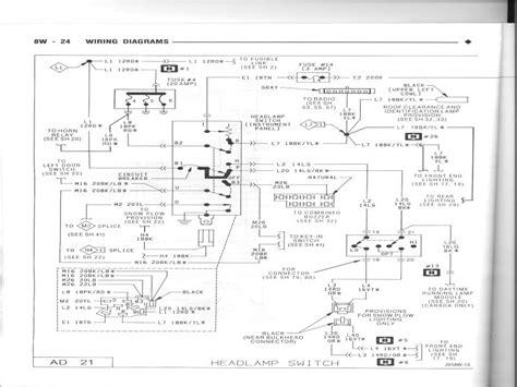 Dodge Headlight Switch Wiring Diagram Forums