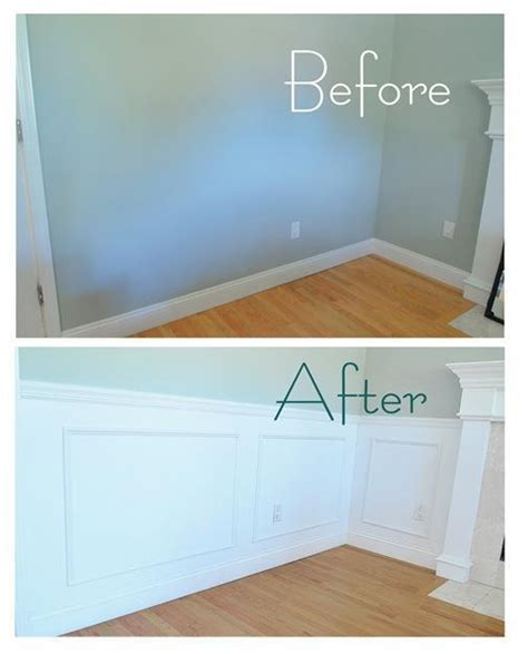 How To Cut Wainscoting by Wainscoting Recap And Reveal Centsational Style