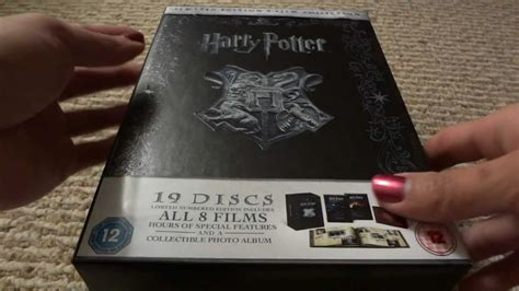 harry potter limited numbered edition   film