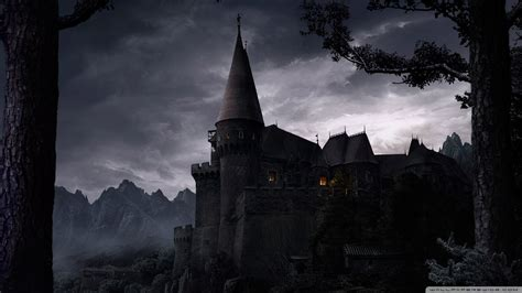 Download Dark Castle Wallpaper 1920x1080  Wallpoper #434614