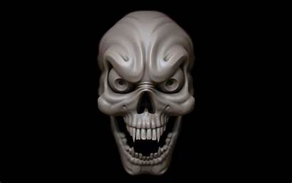 Horror Skull Wallpapers 3d Scary Psycho Ghost