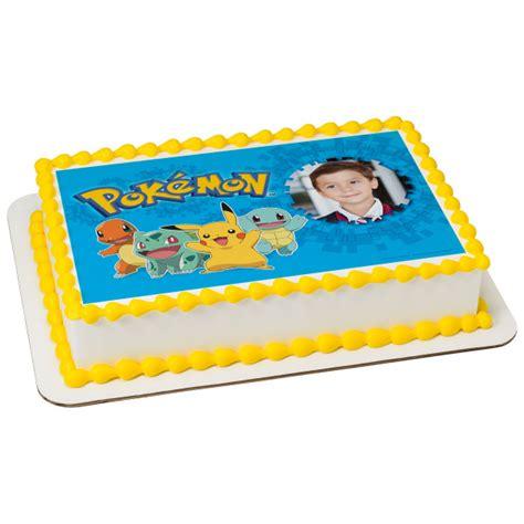 pokemon  choose  cupcake rings decopac