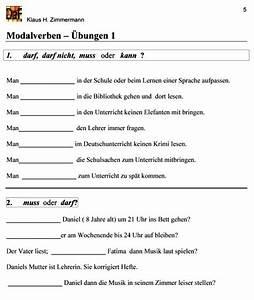 Musik Zum Lesen : deutsch als fremdsprache daf daz grammatik modalverben ~ Orissabook.com Haus und Dekorationen